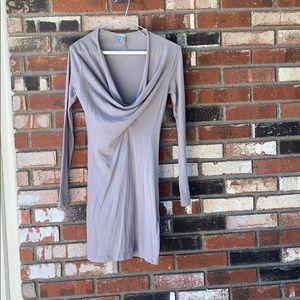 Women's Bobi Gray tunic Size XS